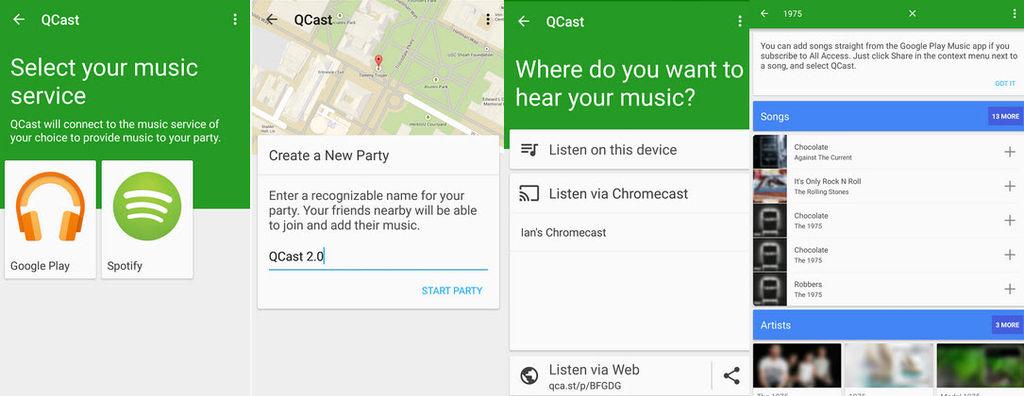 escuchar spotify en chromecast1