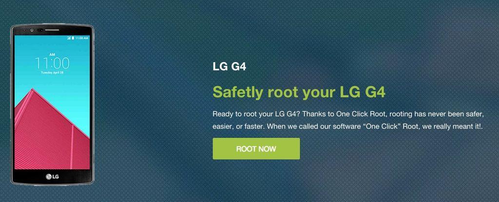 OneClickRoot LG G4
