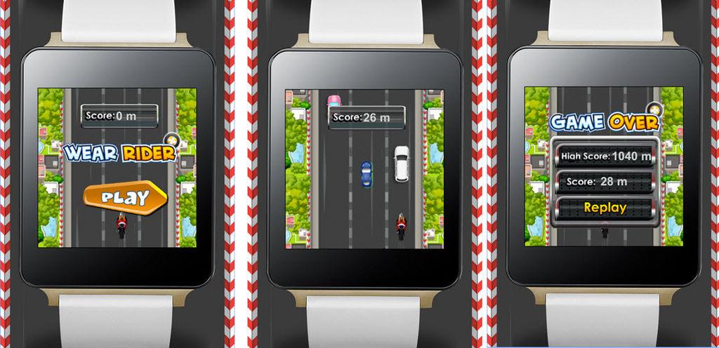 juego smartwatch wear raider