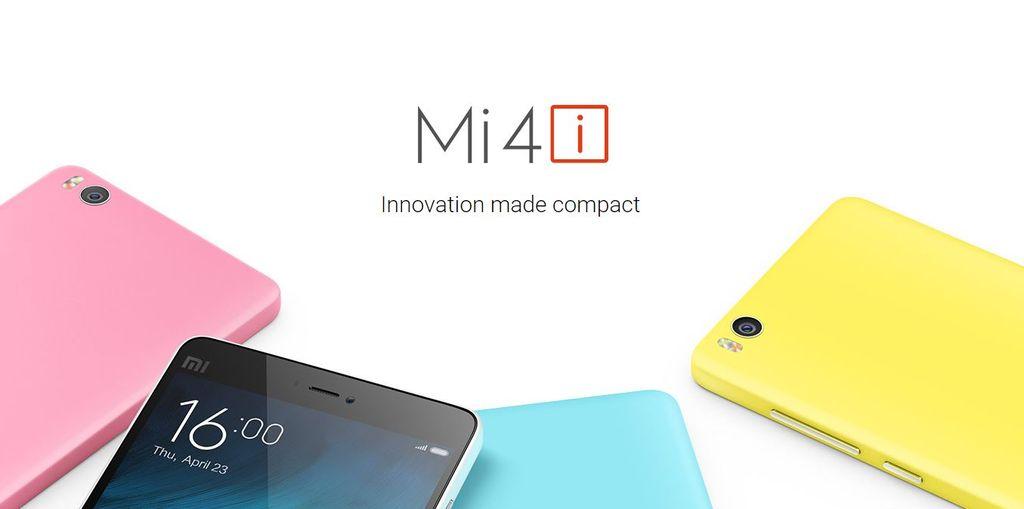 Xiaomi Mi4i copia del iPhone 5C