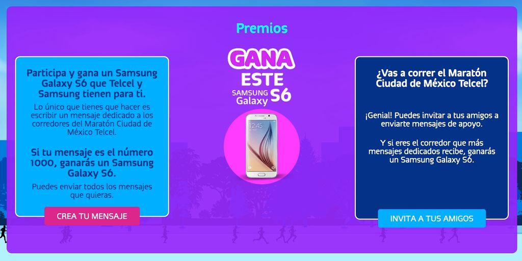 Galaxy S6 gratis con Telcel