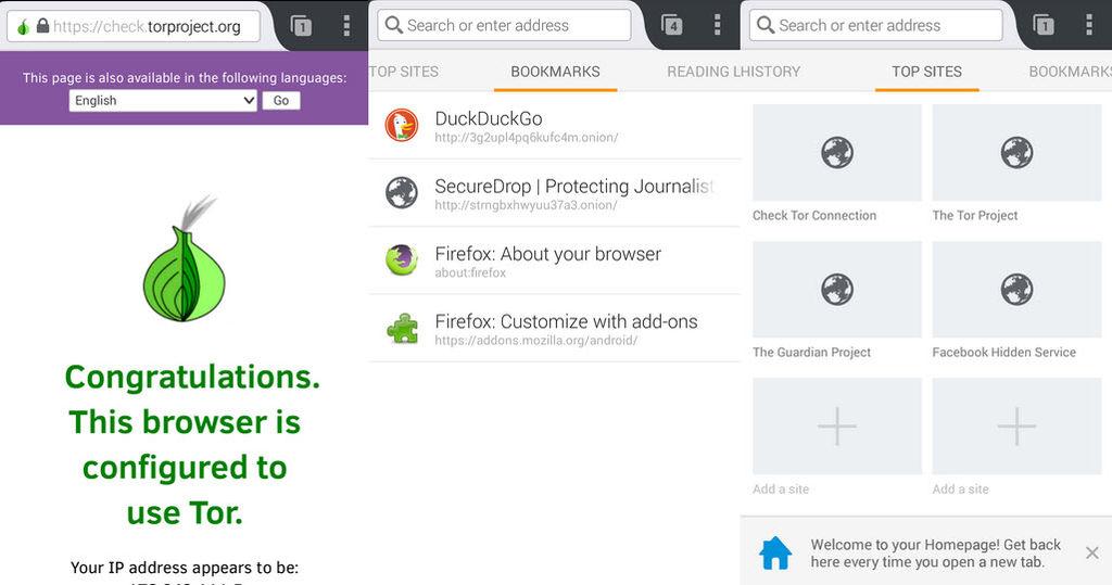 navegador seguro para android orfox1