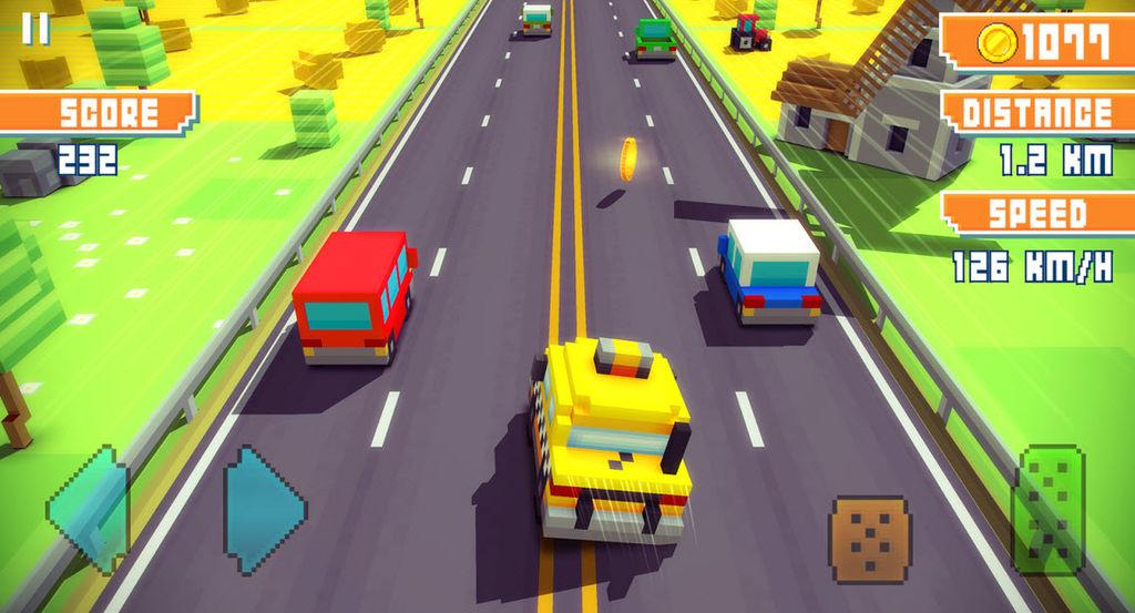 descargar blocky highway2