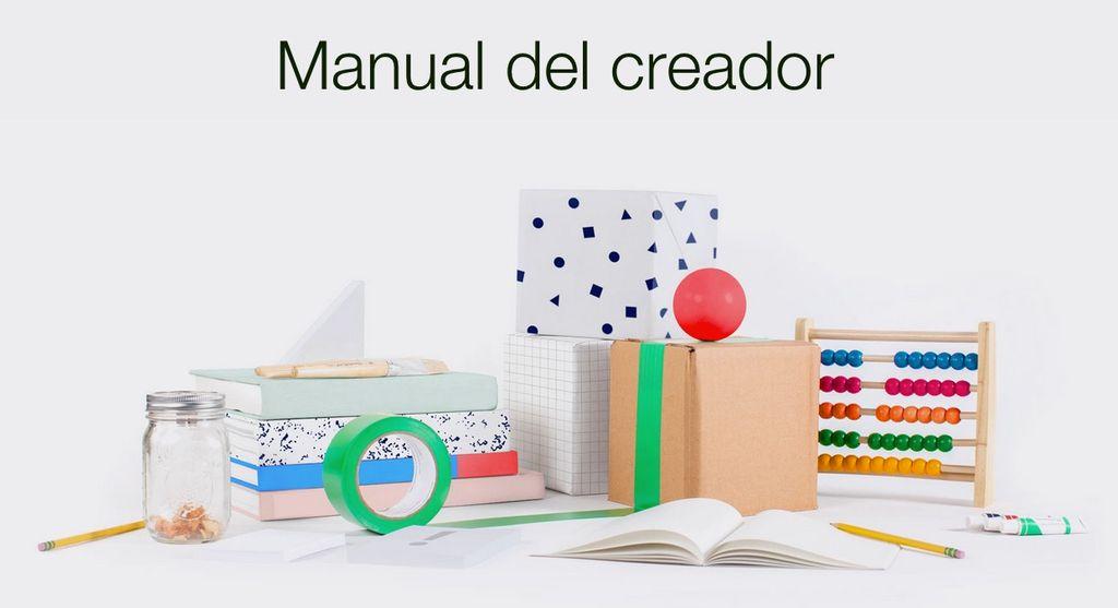 Manual del creador en Kickstarter