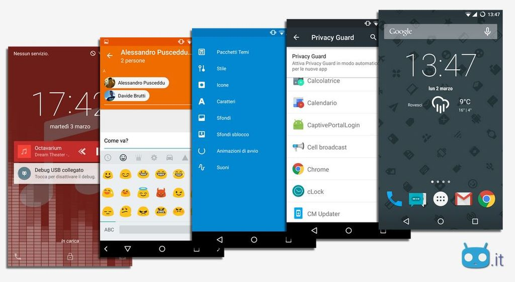CyanogenMod 12.1 con Android 5.1