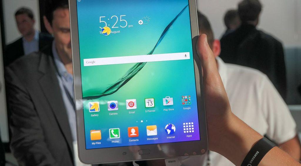 Galaxy Tab S2 diseño