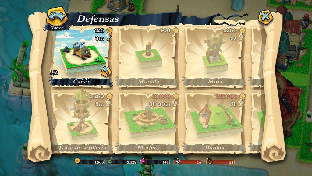 Consejos defensa Plunder Pirates