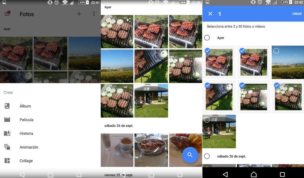 crear animacion google fotos1