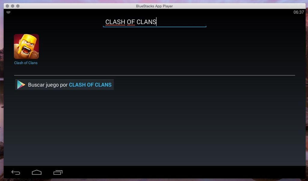 Clash of Clans para OS X