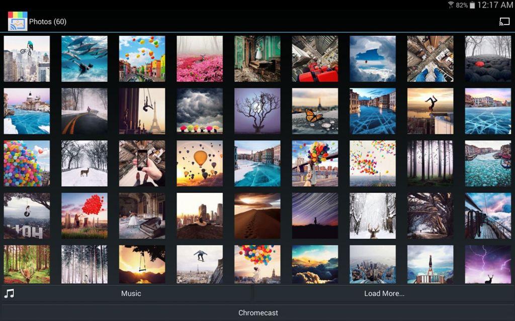Fotos de Instagram en Chromecast
