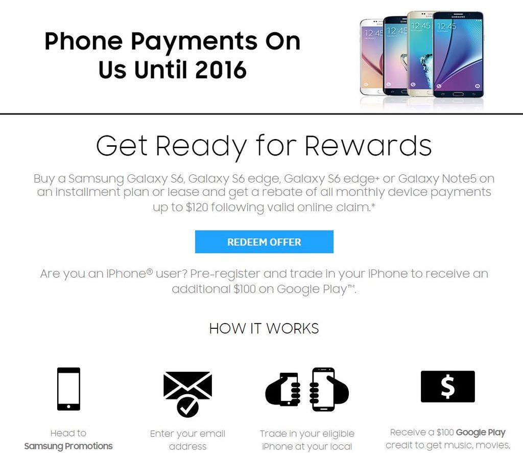 Samsung te regala 220 dólares si compras un Galaxy Note 5 un Galaxy S6