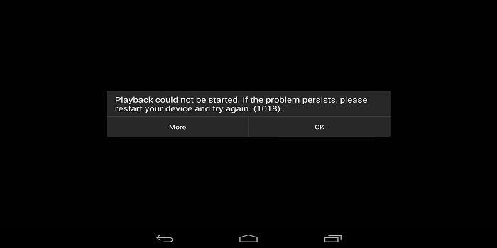 ¿Cómo solucionar el error 1018 en Netflix