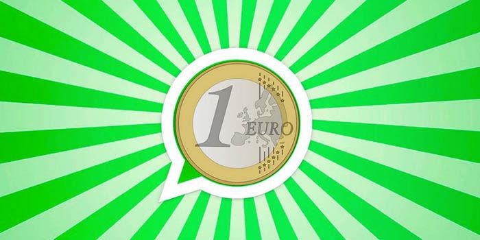 1 euro WhatsApp