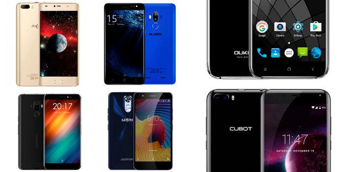 10 mejores móviles chinos por menos de 100 euros