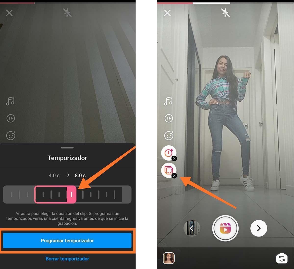 2 Efecto cambio de ropa instantaneo con Instagram Reels