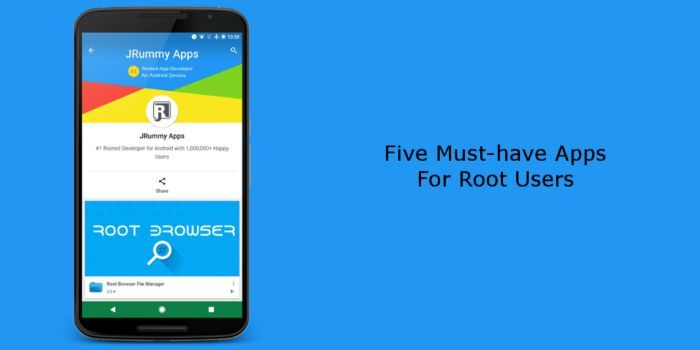 2019 android root apps