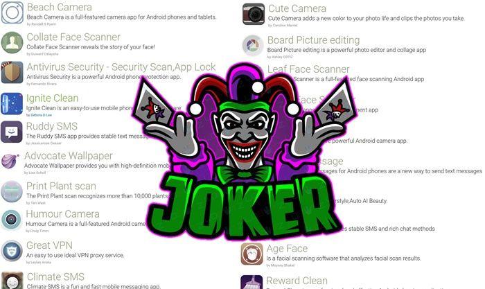 24 aplicaciones virus joker