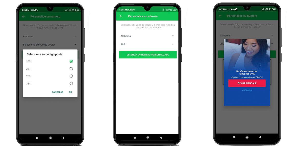 Cómo crear un número virtual en Nextplus para abrir un WhatsApp