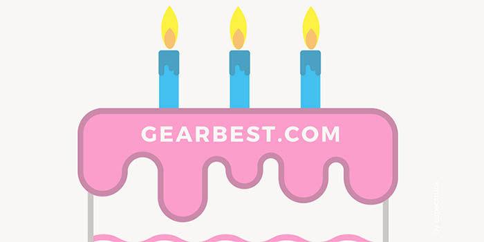 3 aniversario gearbest espana
