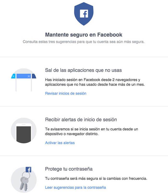 3 consejos para estar seguro en Facebook