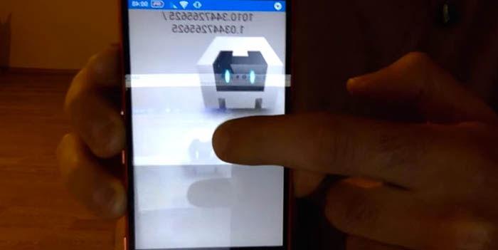 3D Touch barómetro en Android