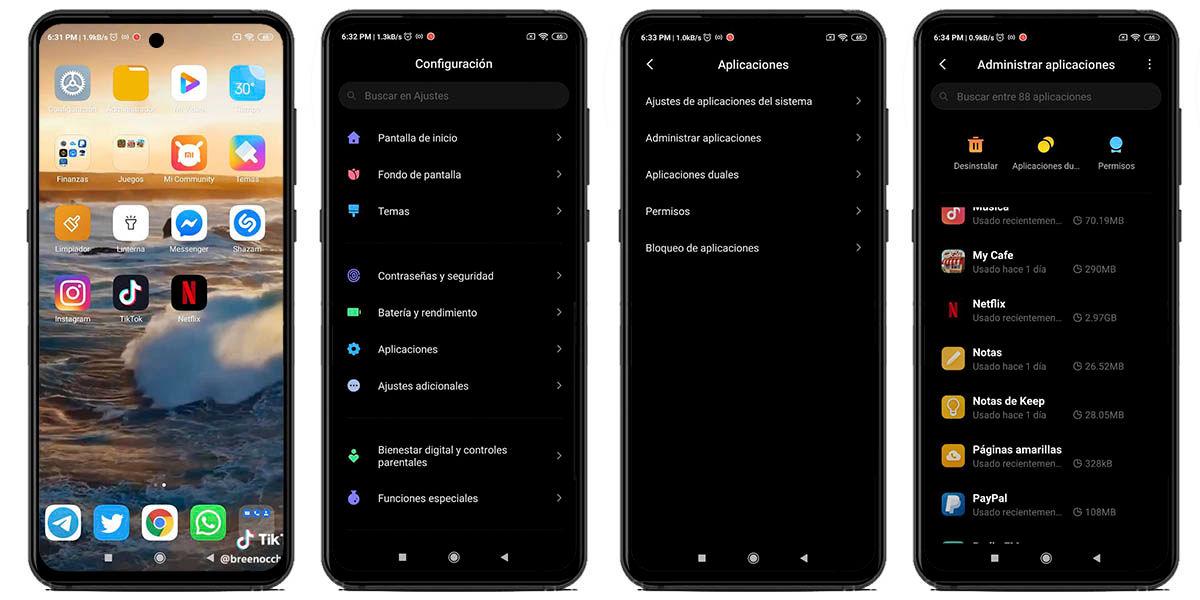 Cómo borrar la memoria caché en Android 10