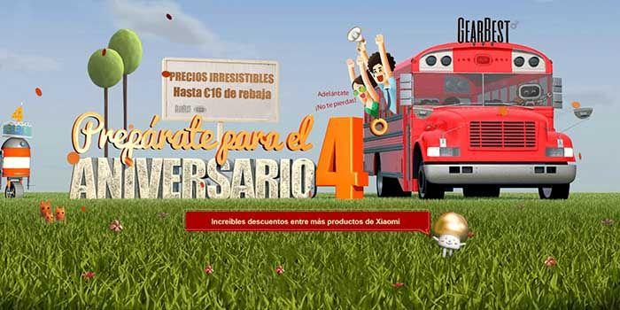 4 aniversario Gearbest