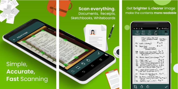 5 Mejores aplicaciones Android para escanear