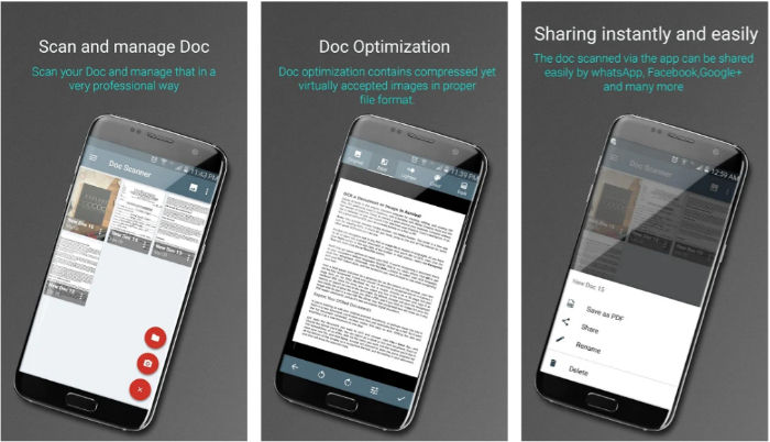 5 Mejores apps Android para escanear
