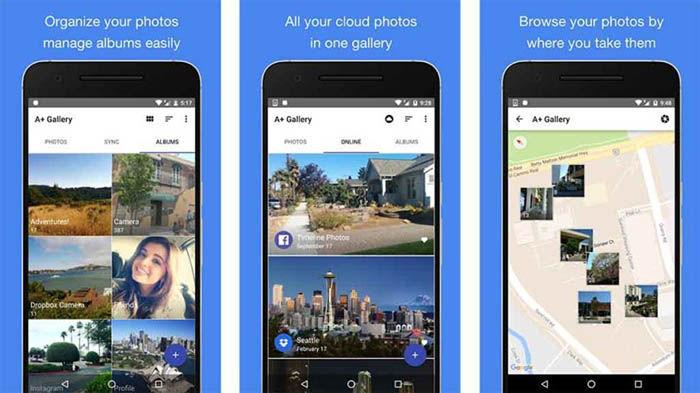 5 apps de galería para Android en las que ordenar mejor tus fotos