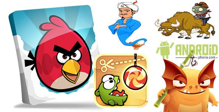 5 juegos divertidos y gratis para android