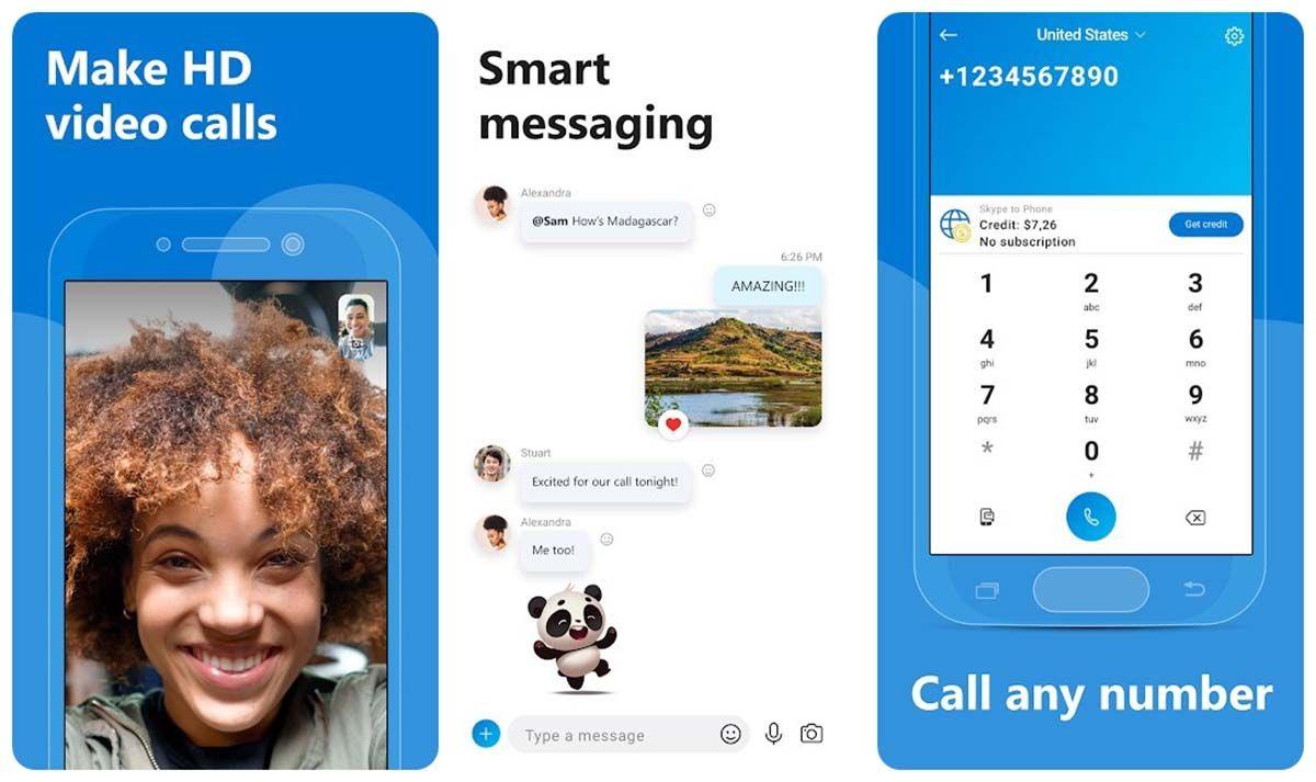 5 mejores aplicaciones teletrabajo skype descargar