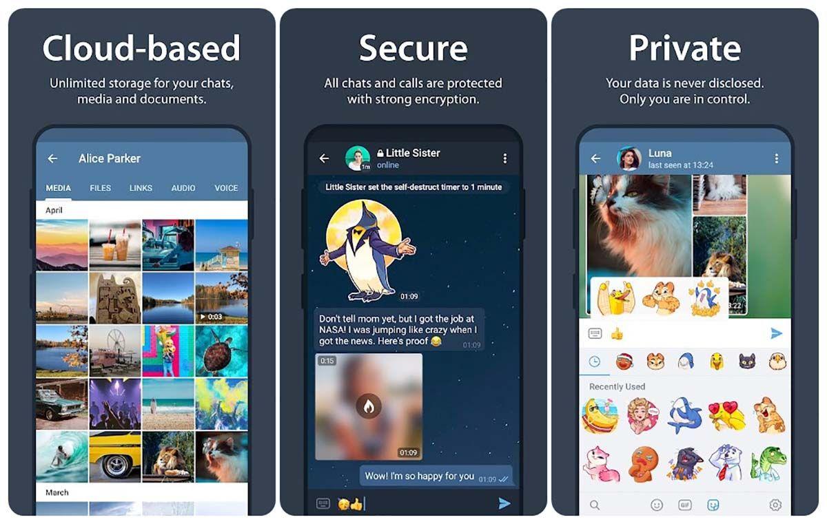 5 mejores aplicaciones teletrabajo telegram descargar