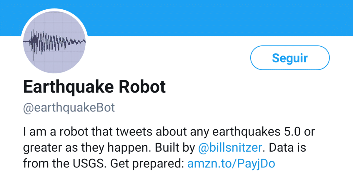 Earthquake Robot