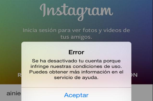 Instagram puede detectar el uso de mods o APKs como InstaULTRA y llegar a bloquear tu cuenta