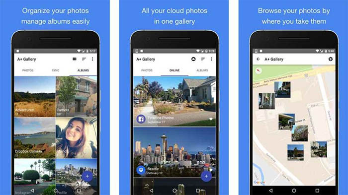 A+ Gallery para Android