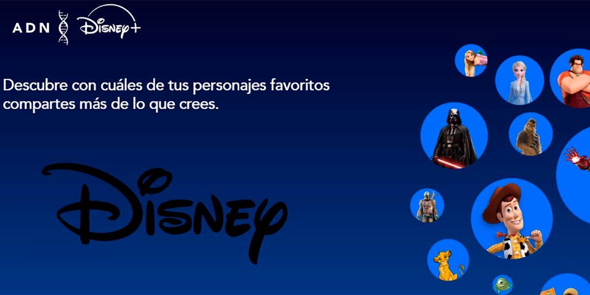 ADN Disney+ a cual personaje te pareces