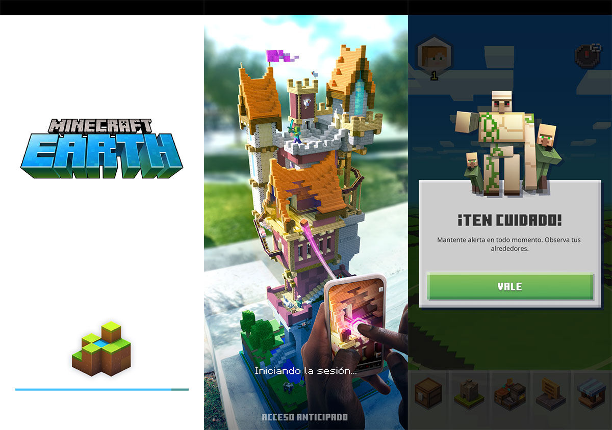 APK de Minecraft Earth para Android