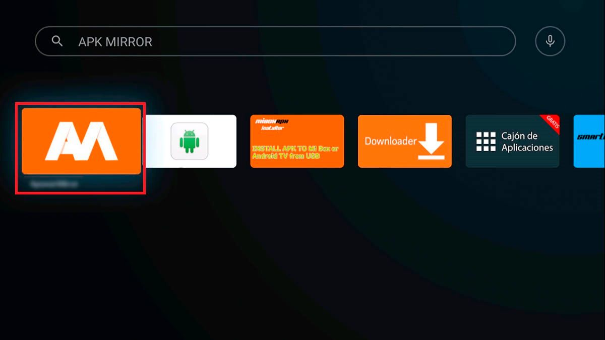 APKMirror Installer Android TV
