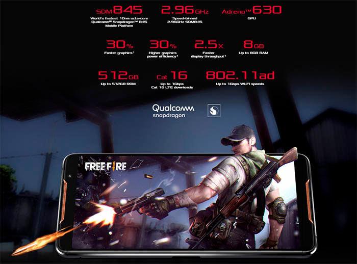 ASUS ROG Phone especificaciones tecnicas