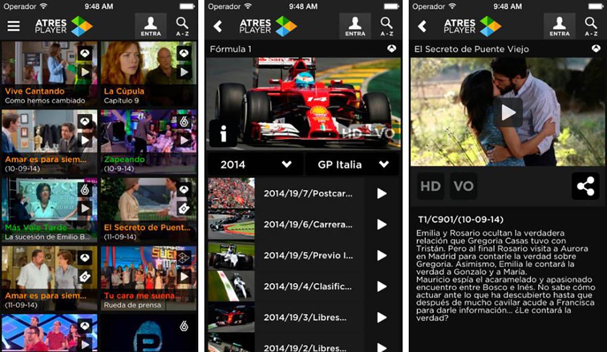 ATRESplayer para Android