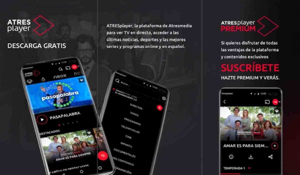 ATRESplayer ver tele gratis
