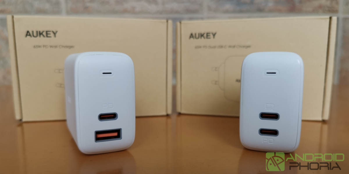 AUKEY Omnia Duo y Mix de 65W Analisis