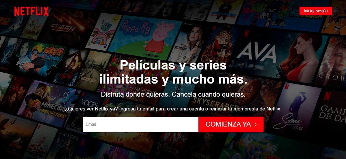 Abrir Netflix en Chrome