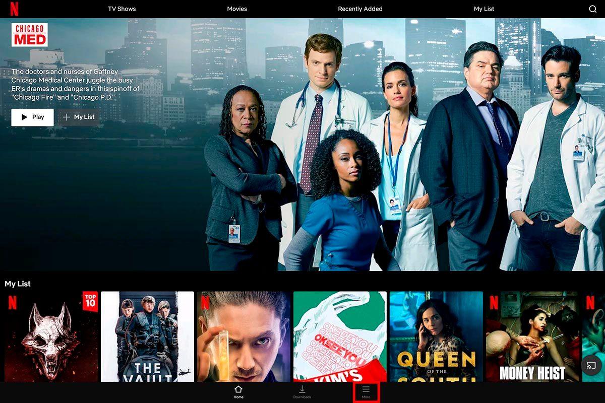 Abrir Netflix Chromebook
