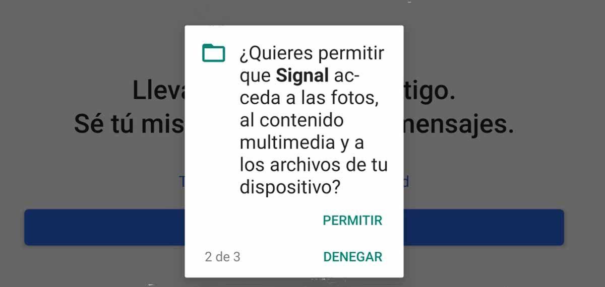 Acceso a las fotos y archivos de tu móvil