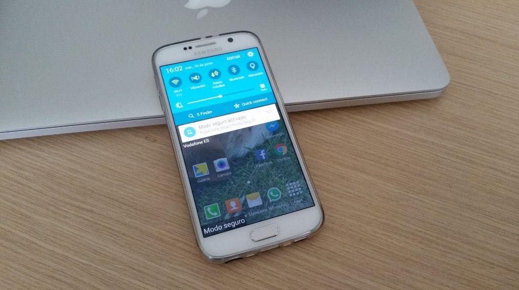 Activar Modo seguro en Galaxy S6