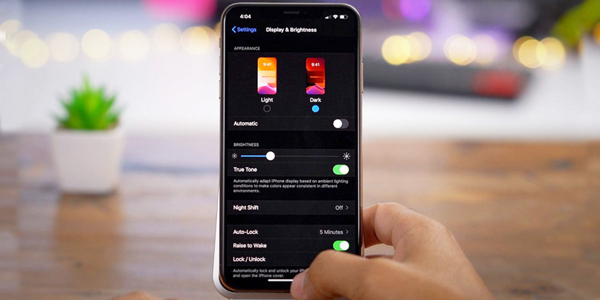 Activar modo oscuro para Android