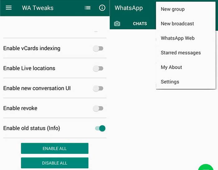 Activar Los Estados Antiguos De Whatsapp En Android