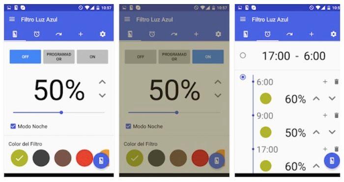 Activar modo nocturno en Android
